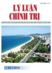 Tạp chí Lý luận chính trị số 7-2016