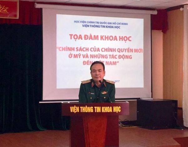 Tọa đàm khoa học: Chính sách của chính quyền mới ở Mỹ và những tác động đến Việt Nam