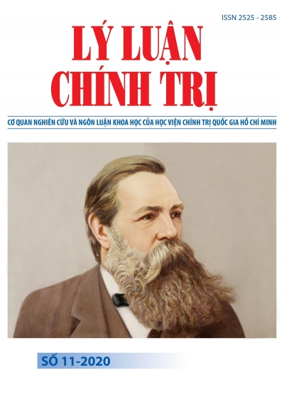 Tạp chí Lý luận chính trị số 11 - 2020