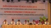 Diễn đàn Kinh tế Mùa Xuân năm 2015