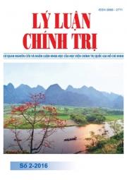 Tạp chí Lý luận chính trị số 2- 2016