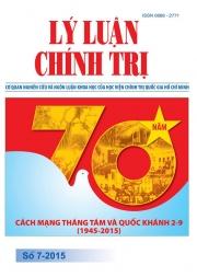Tạp chí Lý luận chính trị số 7- 2015