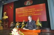 Bài phát biểu của đồng chí Đinh Thế Huynh tại Lễ khai trương Tạp chí Lý luận chính trị điện tử  và Tiếng Anh