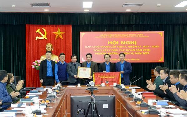 Thanh niên Học viện Chính trị quốc Hồ Chí Minh phấn đấu tiếp nối 70 năm truyền thống vẻ vang của Học viện