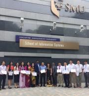 Đoàn cán bộ của Học viện Chính trị quốc gia Hồ Chí Minh đi nghiên cứu, học tập về quản lý hành chính công tại Singapore
