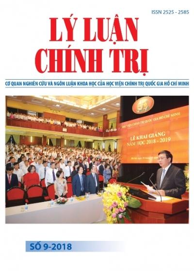 Tạp chí Lý luận chính trị số 9-2018