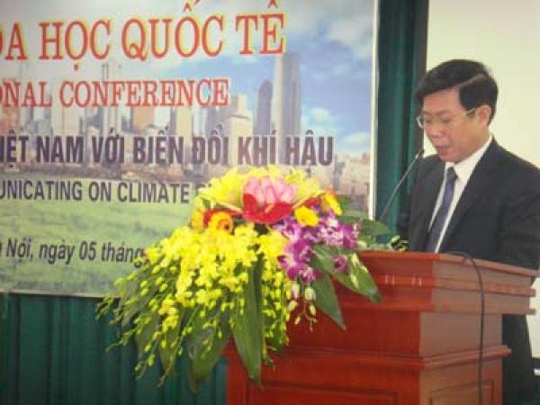 Hội thảo: Truyền thông đại chúng Việt Nam với biến đổi khí hậu