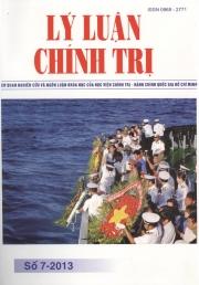 Tạp chí Lý luận chính trị số 7-2013