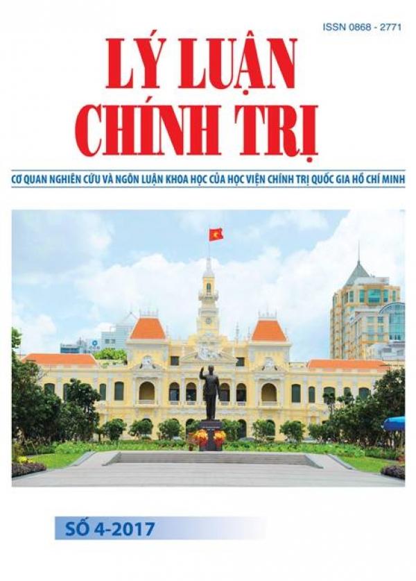 Tạp chí Lý luận chính trị số 4 - 2017