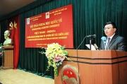 Hội thảo khoa học quốc tế: Việt Nam - Ấn Độ: 45 năm quan hệ ngoại giao và 10 năm đối tác chiến lược