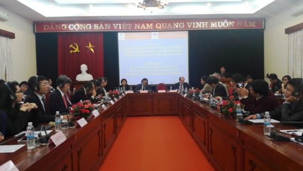 Hội thảo: Cải cách quản trị nhà nước và phòng chống tham nhũng: kinh nghiệm của Xinhgapo và gợi ý đối với Việt Nam