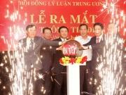 Lễ ra mắt Trang thông tin điện tử Hội đồng Lý luận Trung ương