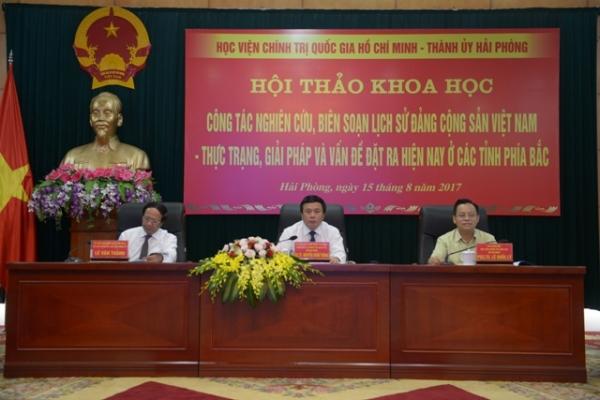 Hội thảo khoa học: Công tác nghiên cứu, biên soạn Lịch sử Đảng Cộng sản Việt Nam, thực trạng, giải pháp và vấn đề hiện nay ở các tỉnh phía Bắc
