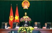 """Hội thảo Khoa học quốc tế """"Quản lý nhà nước bằng pháp luật thích ứng với bối cảnh hội nhập quốc tế và cách mạng công nghiệp 4.0 ở Việt Nam và Lào"""""""