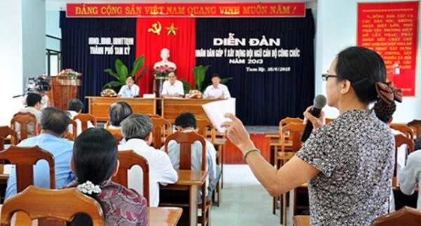 Cơ chế giám sát của tổ chức Đảng và nhân dân nơi cư trú đối với Bí thư cấp ủy đồng thời là Chủ tịch ủy ban nhân dân cùng cấp