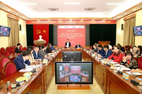 Hội thảo tham vấn Chương trình nghiên cứu phát triển địa phương – Dự án Vietnam Leads