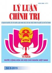 Tạp chí Lý luận chính trị số 8 - 2015
