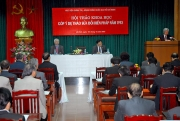 """Hội thảo """"Tổng kết thi hành Hiến pháp năm 1992"""""""