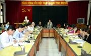 Nguyên Phó Chủ tịch nước Nguyễn Thị Bình thăm và làm việc tại Học Viện