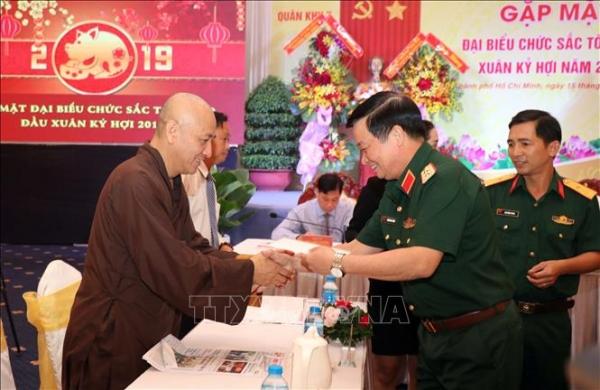 Nâng cao nhận thức, trách nhiệm cho cán bộ, chiến sĩ Quân đội tham gia thực hiện công tác tôn giáo