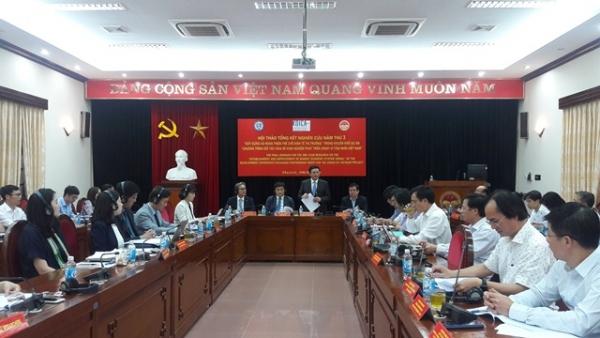 Hội thảo tổng kết nghiên cứu năm thứ ba về Xây dựng và hoàn thiện thể chế kinh tế thị trường trong khuôn khổ Dự án DEEP vì tầm nhìn Việt Nam