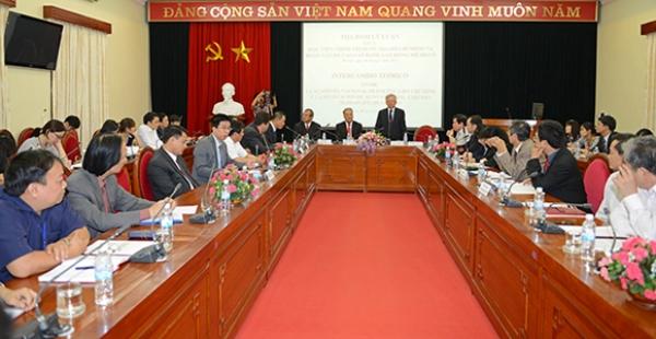 Tọa đàm lý luận giữa Học viện Chính  trị quốc gia Hồ Chí Minh và đoàn cán bộ cao cấp Đảng Lao động Mêhicô