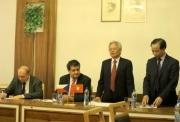 Giám đốc Học viện Chính trị quốc gia Hồ Chí Minh thăm và làm việc tại Cộng hoà Séc