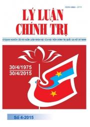 Tạp chí Lý luận chính trị số 4 - 2015