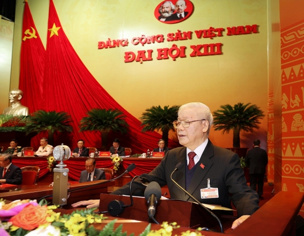 Báo cáo của Ban Chấp hành Trung ương Đảng khóa XII về các văn kiện trình Đại hội XIII của Đảng