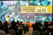 Lễ công bố năng lực chỉ số cạnh tranh cấp tỉnh PCI năm 2015