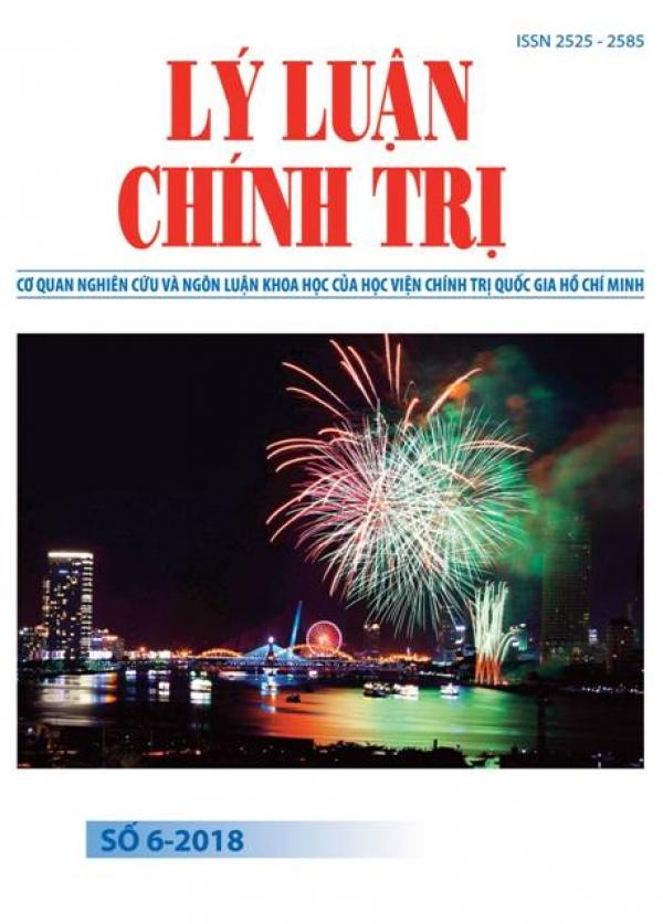 Tạp chí Lý luận chính trị số 6-2018