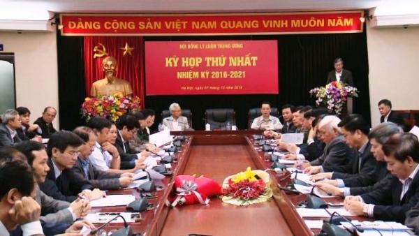 Kỳ họp thứ nhất Hội đồng Lý luận Trung ương nhiệm kỳ 2016-2021