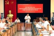 """Hội thảo Khoa học """"Phương pháp luận nghiên cứu, tổng kết làm sáng tỏ một số vấn đề lý luận về công cuộc đổi mới đi lên CNXH ở Việt Nam"""""""