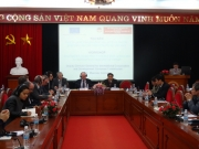 Phái đoàn Tổng Vụ Hợp tác phát triển quốc tế - Ủy ban châu Âu thăm và tọa đàm tại Học viện Chính trị quốc gia Hồ Chí Minh
