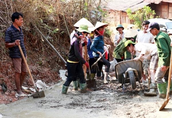 Kết quả xây dựng nông thôn mới ở tỉnh Sơn La