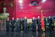 Lễ Kỷ niệm 65 năm truyền thống Học viện Chính trị quốc gia Hồ Chí Minh (1949-2014) và đón nhận Huân chương Hồ Chí Minh