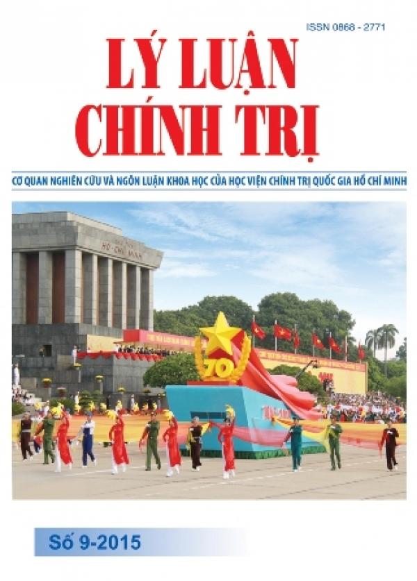 Tạp chí Lý luận chính trị số 9 - 2015
