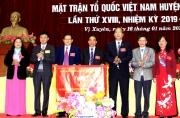 Đổi mới tổ chức bộ máy cơ quan Mặt trận Tổ quốc và các đoàn thể chính trị - xã hội cấp huyện