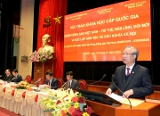 Hội thảo khoa học cấp quốc gia: Đảng Cộng sản Việt Nam – trí tuệ, bản lĩnh, đổi mới vì độc lập dân tộc và chủ nghĩa xã hội