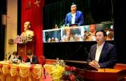 Đồng chí Nguyễn Xuân Thắng, Ủy viên Bộ Chính trị, Giám đốc Học viện Chính trị quốc gia Hồ Chí Minh, Chủ tịch Hội đồng Lý luận Trung ương được giới thiệu ứng cử đại biểu Quốc hội khóa XV