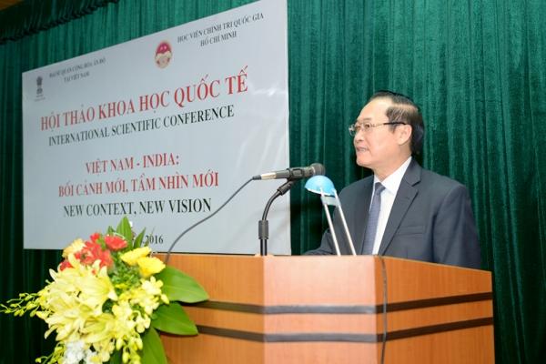 """Hội thảo khoa học quốc tế: """"Việt Nam - Ấn Độ: Bối cảnh mới, tầm nhìn mới"""""""
