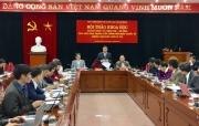 Hội thảo khoa học: Thách thức chính trị - an ninh của Việt Nam trong tiến trình hội nhập quốc tế những năm đầu thế kỷ XXI