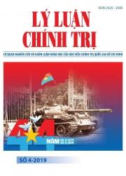 Tạp chí Lý luận chính trị số 4 - 2019