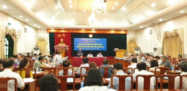 Cơ chế pháp lý kiểm soát quyền lập pháp ở Việt Nam