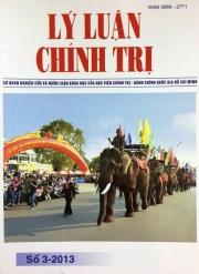 Tạp chí Lý luận chính trị Số 3-2013