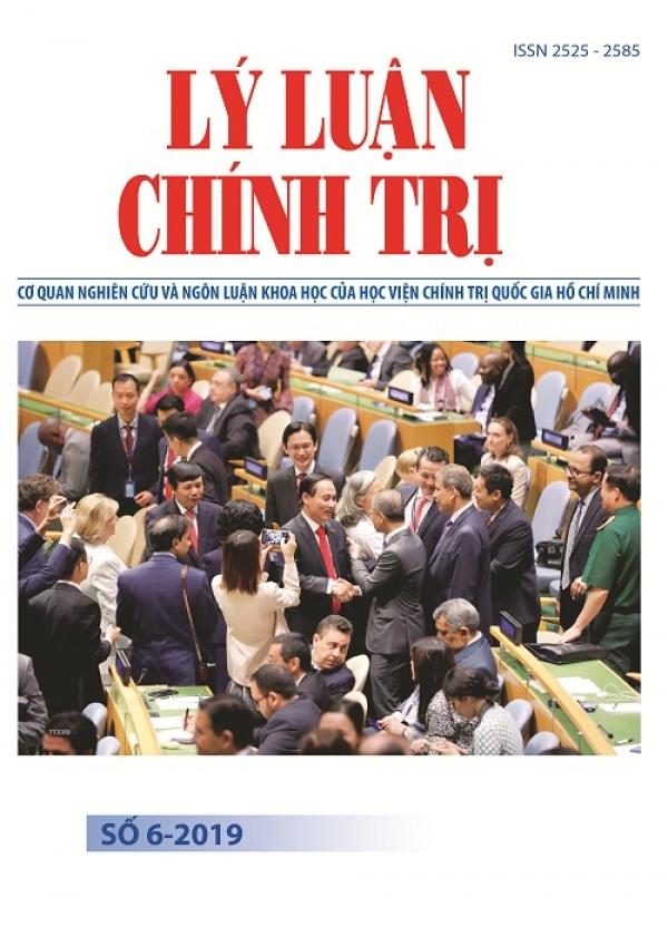 Tạp chí Lý luận chính trị số 6-2019