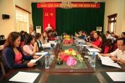 Tạp chí Lý luận chính trị nghiên cứu khảo sát thực tế về tổ chức,  bộ máy hệ thống chính trị tại tỉnh Sơn La