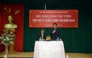 Hội nghị Cộng tác viên Tạp chí Lý luận chính trị năm 2014