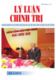 Tạp chí Lý luận chính trị số 1-2016
