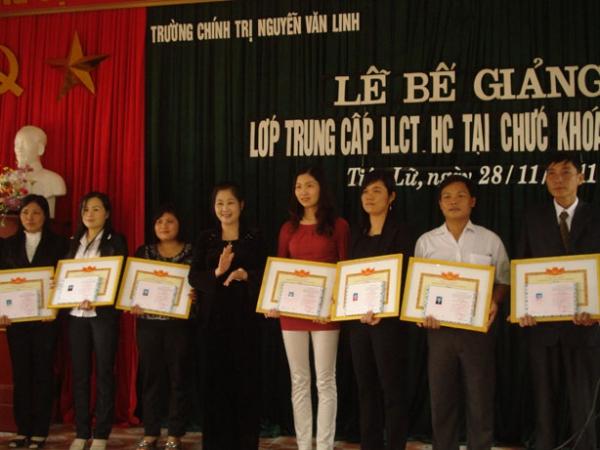 Công tác đào tạo, bồi dưỡng lý luận chính trị ở tỉnh Hưng Yên